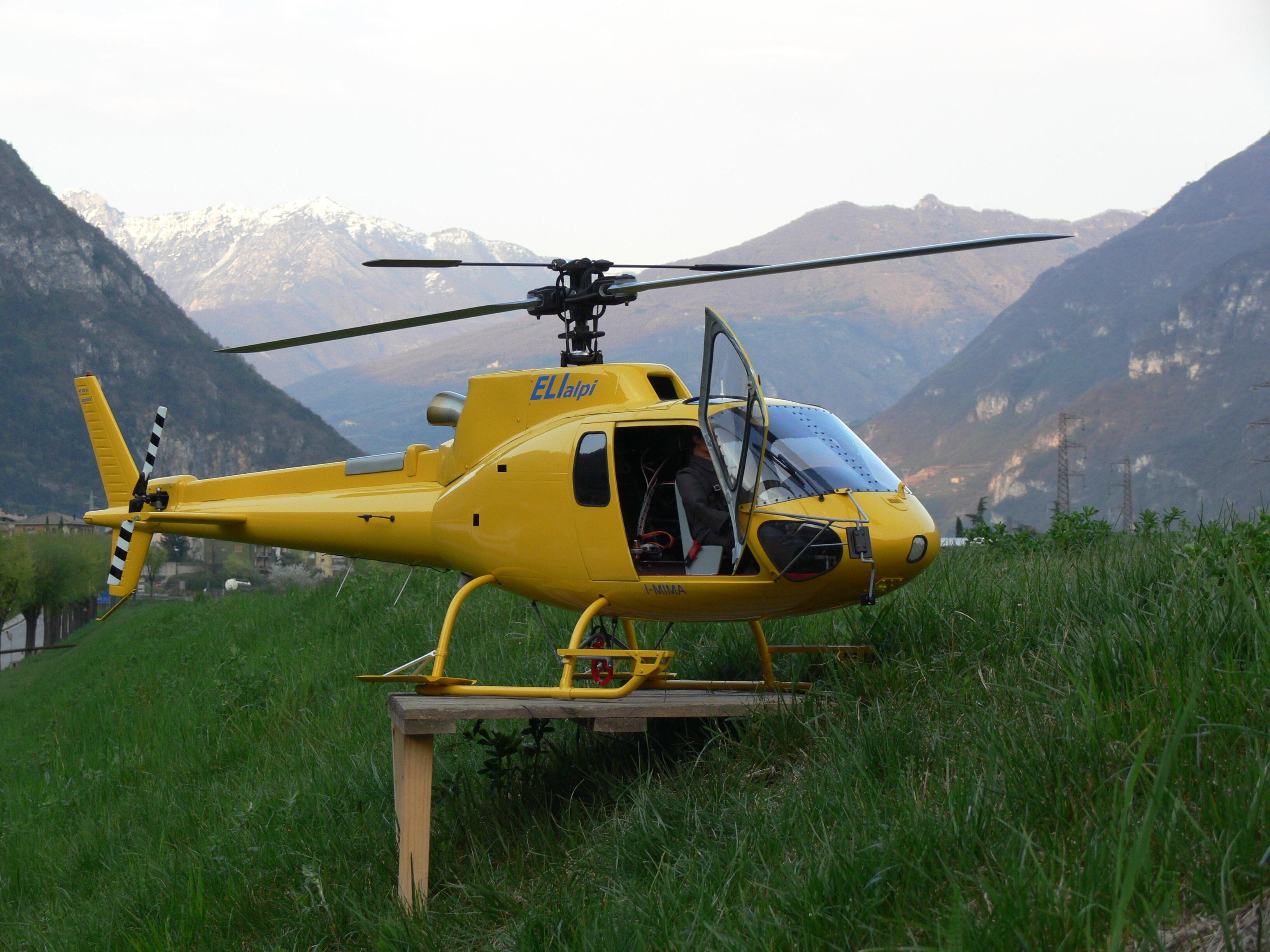 Elicottero 350 : Helitrento fusoliere e acessori per i modellisti più esigenti